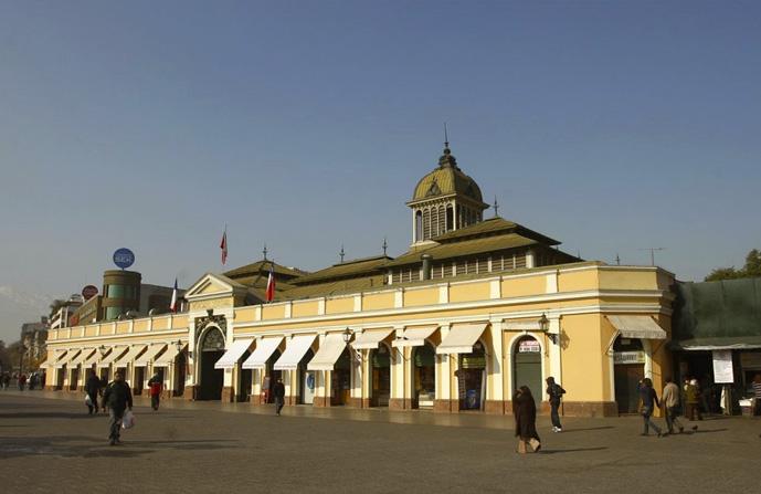 Mercado Municipal de Santiago