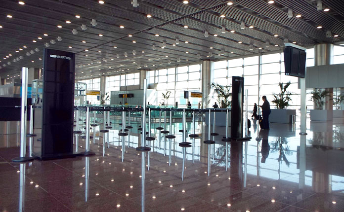 O lindíssimo Terminal 3 (TPS3) do GRU Airport