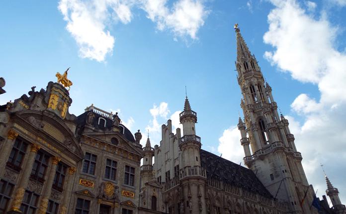 Grand Place e Hotel De Ville