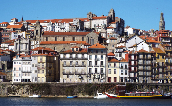 O Porto, visto de Vila Nova de Gaia