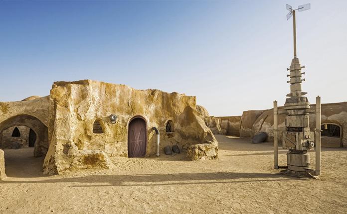 """""""Planeta Tatooine"""", em Tozeur"""