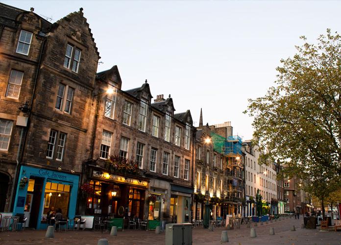 Fim de tarde em Edimburgo