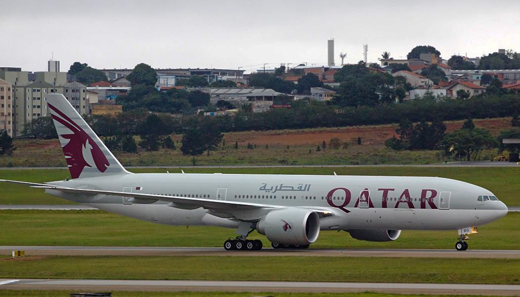 voar na Qatar