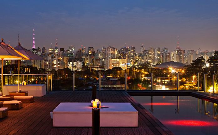 Vista do skyline de São Paulo