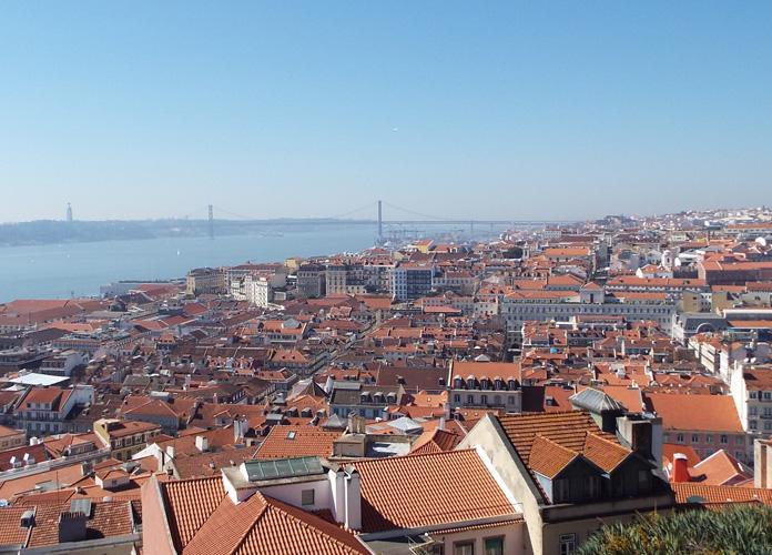 A mais bela vista de Lisboa