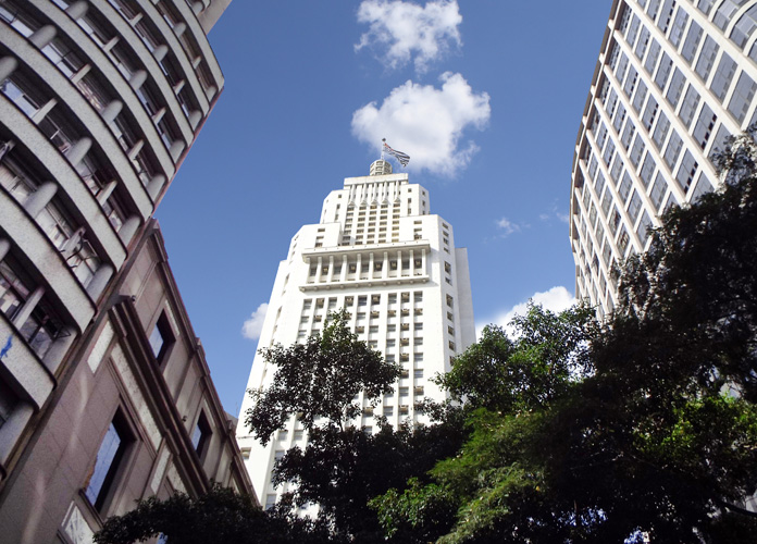 Banespão, o melhor lugar para ver São Paulo de cima.
