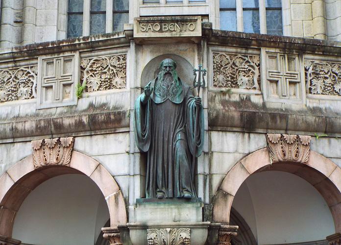 Detalhe do Mosteiro de São Bento