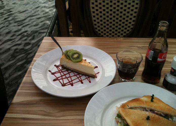 Pausa pra comer