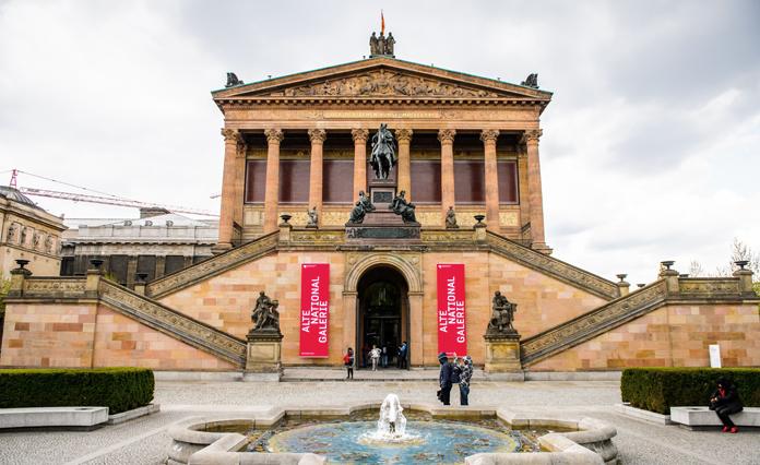 Alte Nationalgalerie: a Pinacoteca de SP teria sido inspirada nesse prédio?