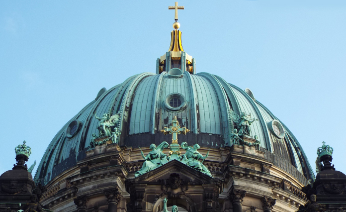 Detalhe da Berlim Dom