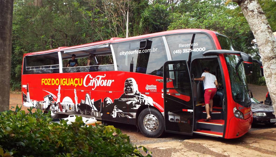 city tour de Foz do Iguaçu