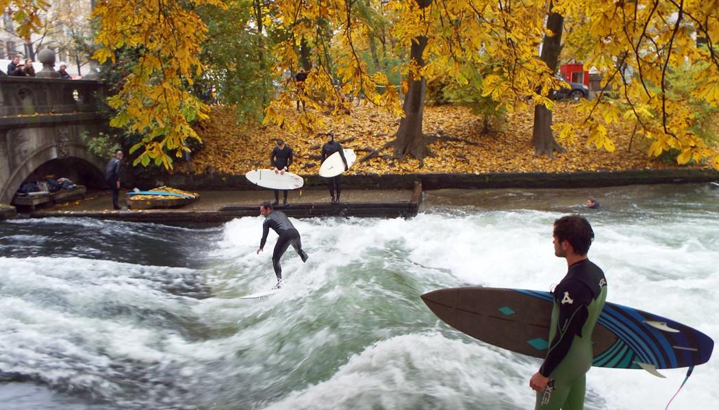 surfistas de Munique
