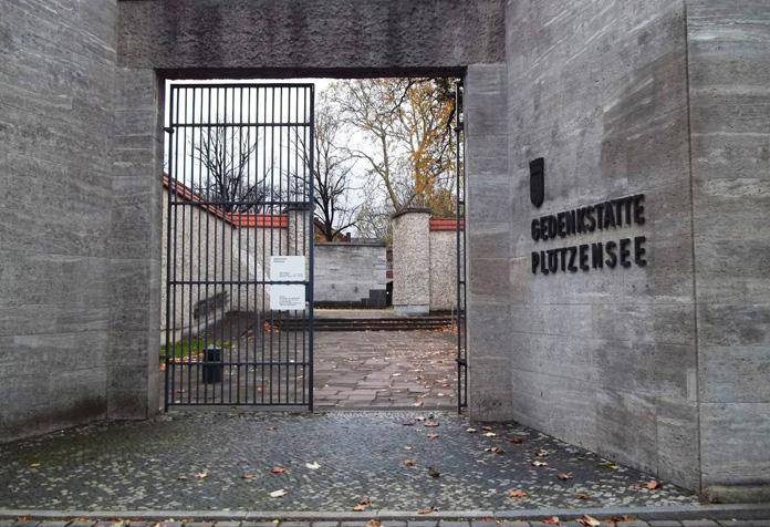 Entrada da prisão