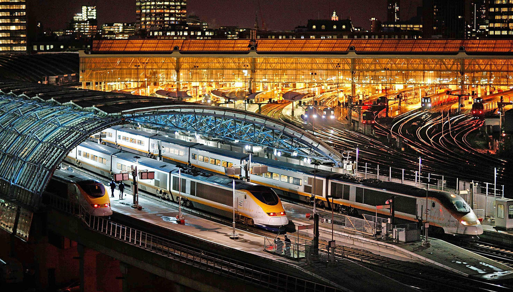 trem noturno Londres a Amsterdã