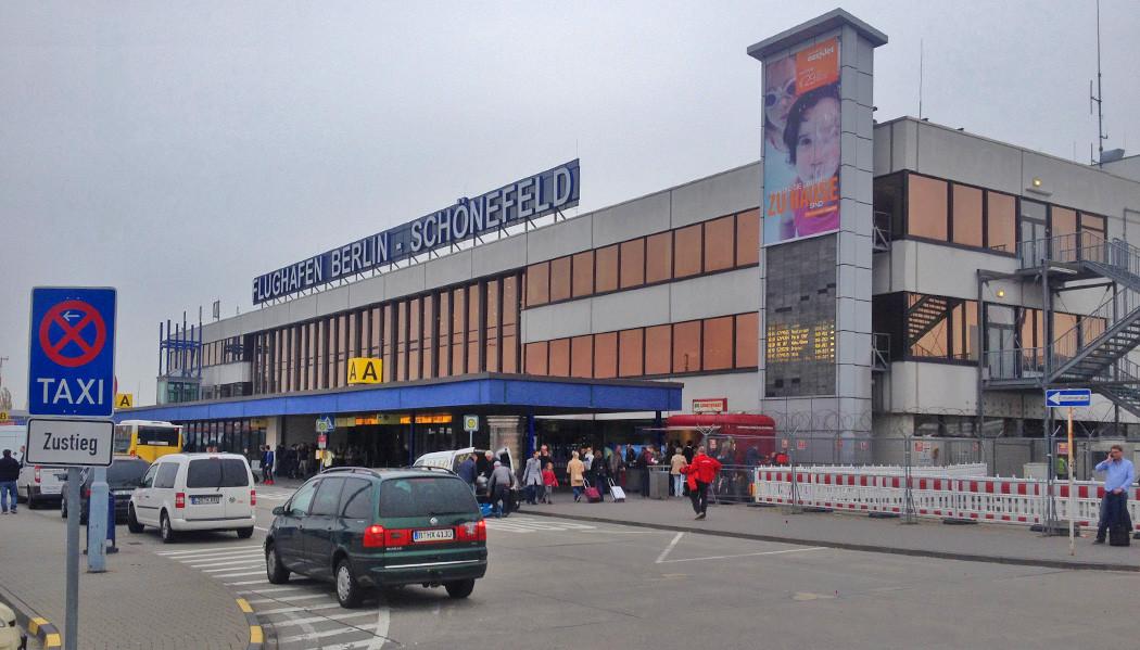 Chegando em Berlim