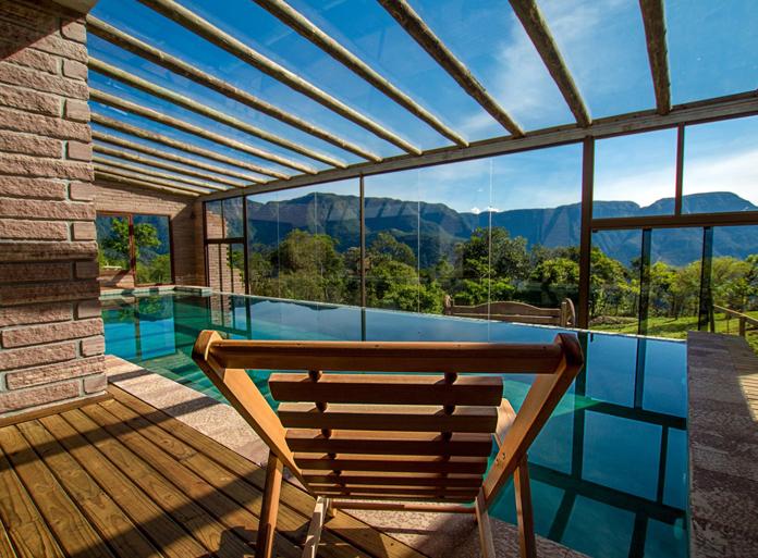 Como não amar essa piscina?