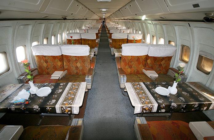 As poltronas são as mesmas da antiga primeira classe (Foto: Chris Waser - Airliners.net)