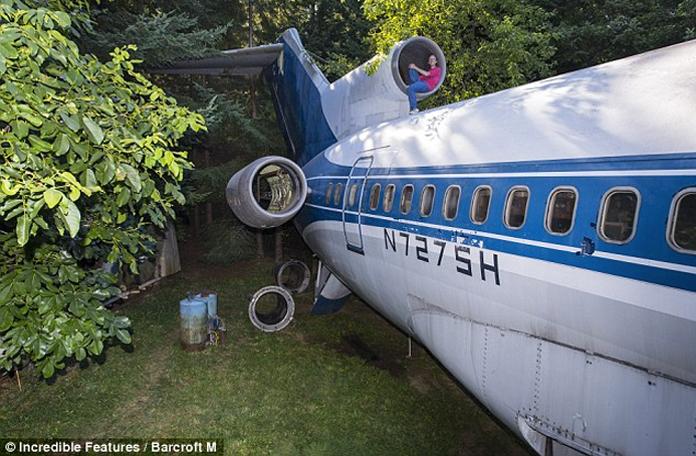 Um 727 que virou casa