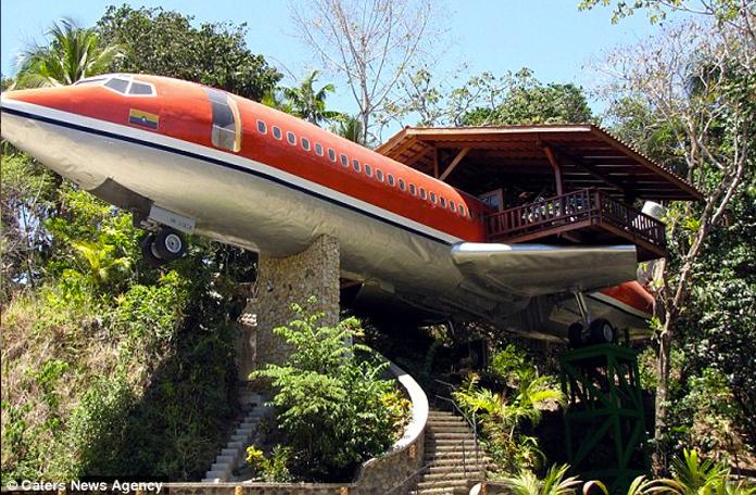 Esse 727 virou uma casa bem mais legal
