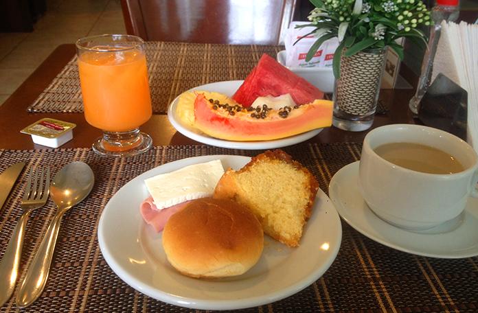 Meu café da manhã