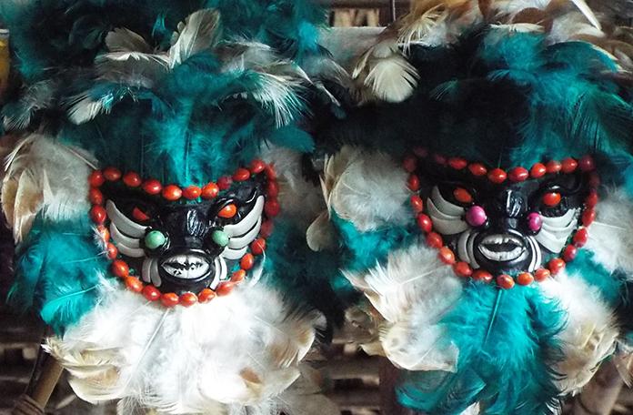 Máscaras contra maus espíritos