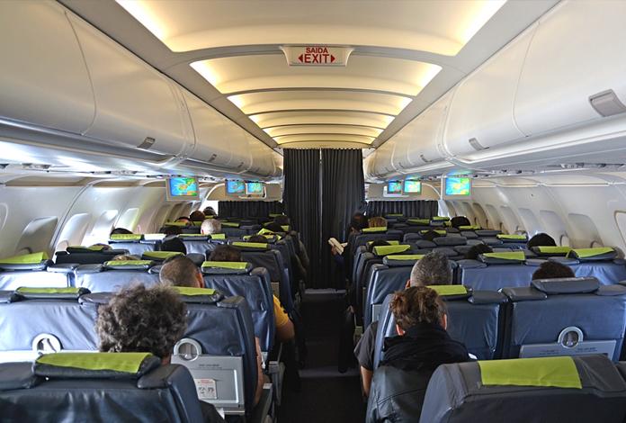 Interior do A320