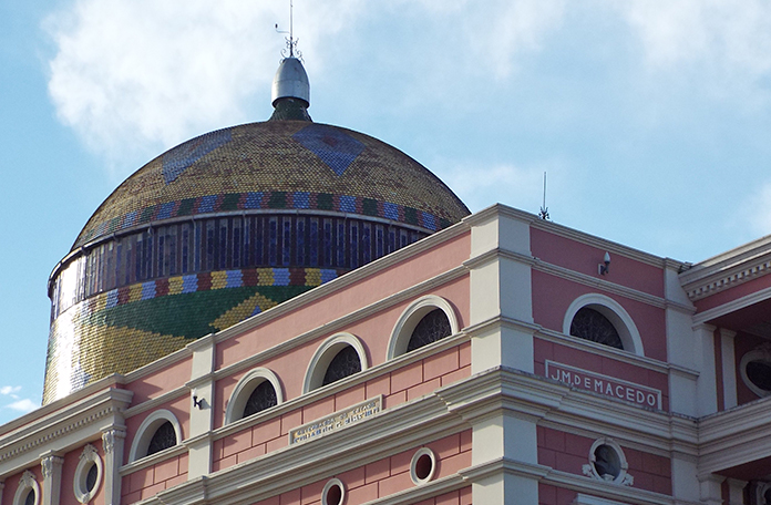 Detalhe da cúpula