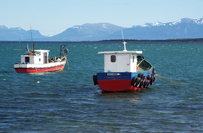 Cena comum em Puerto Natales