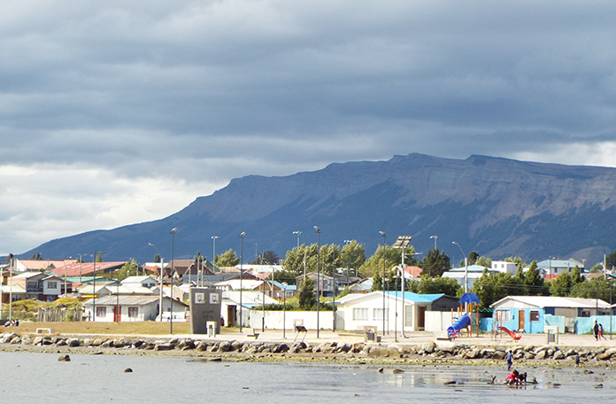 A pequena Puerto Natales