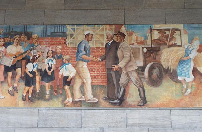 Mural comunista
