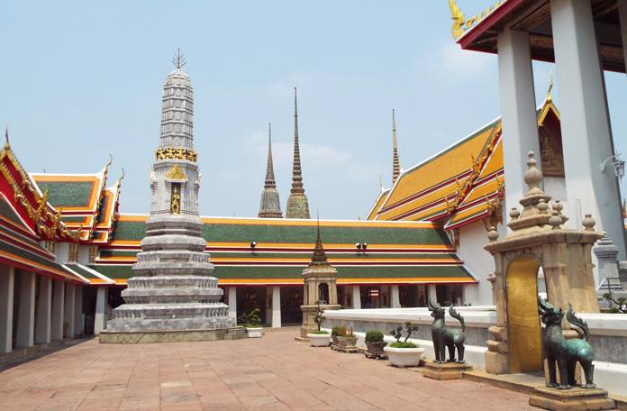 Paz em Wat Pho