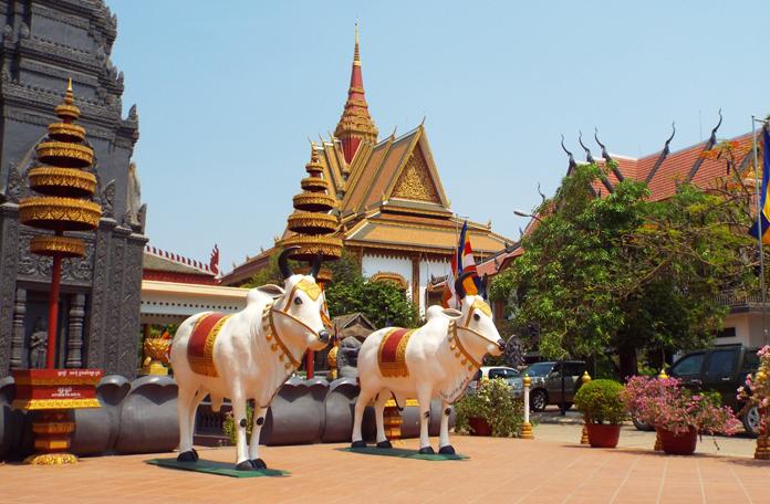 Parte Hindú do templo