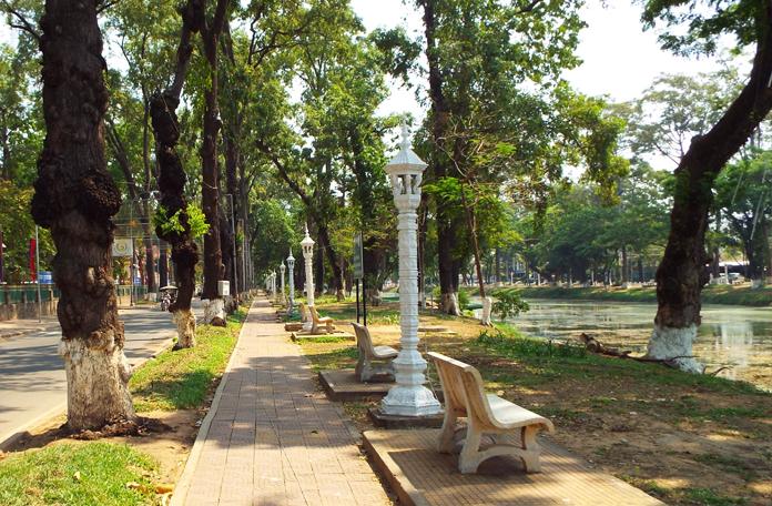 Margem do Rio Siem Reap