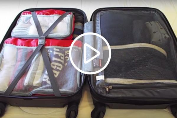 arrumando a mala