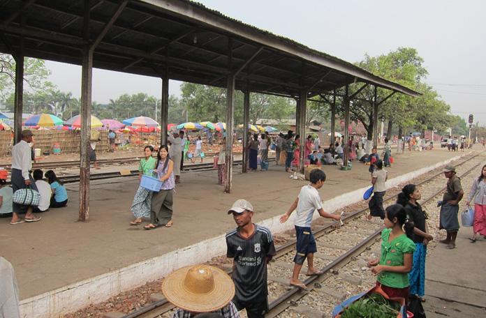 A estação