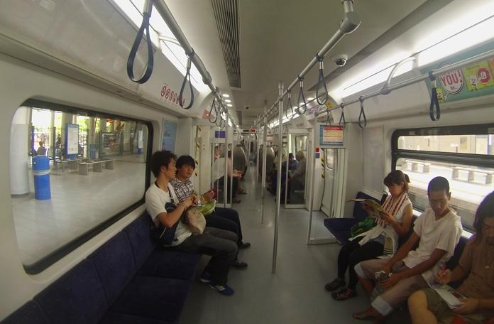O trem para Batu Caves