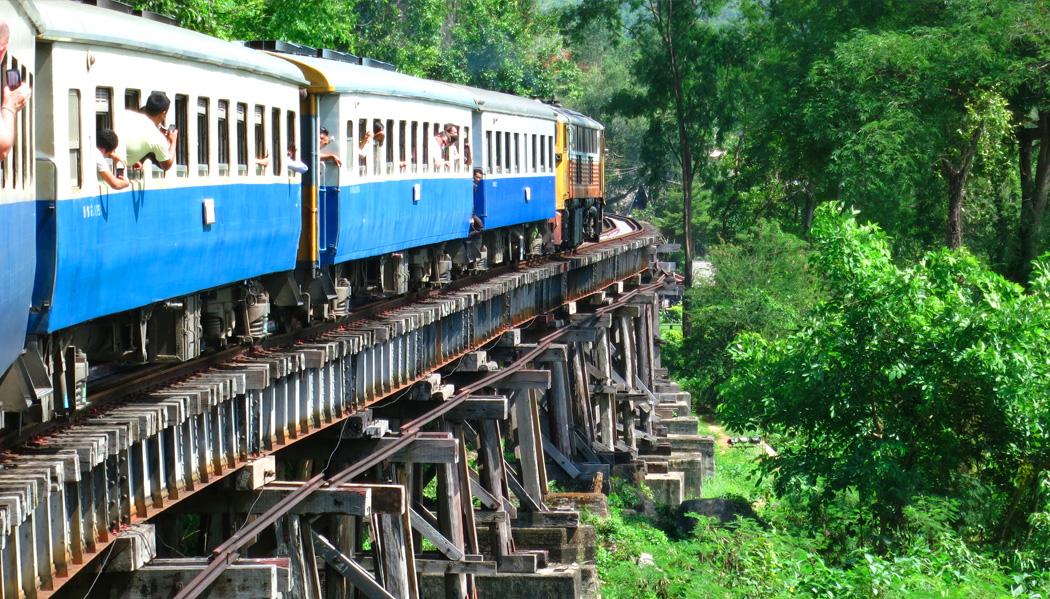 Ferrovia da morte de Mianmar