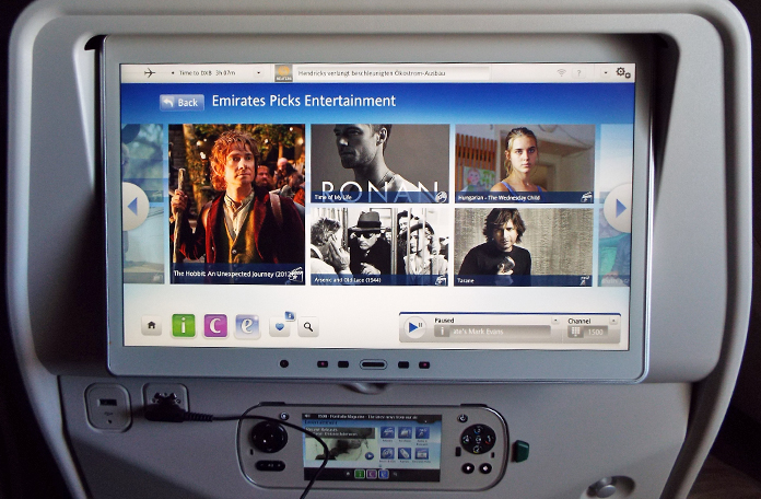 Sistema on-demand da Emirates
