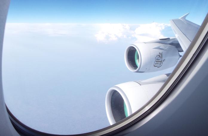 Os enormes motores do gigante