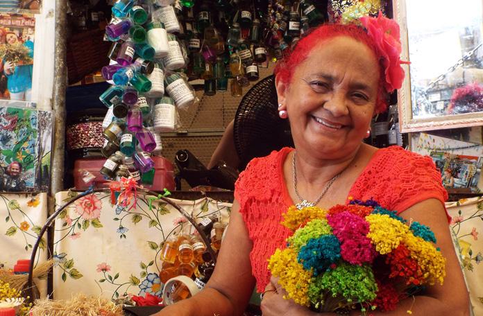 A famosa Beth Cheirosinha do Ver-o-peso