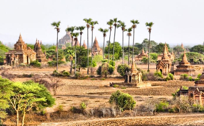 Bagan e suas milhares de estupas
