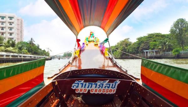 passeio de barco em Bangkok