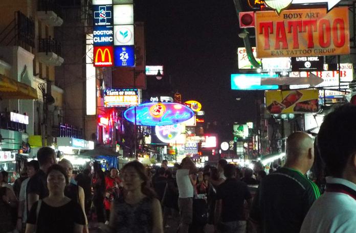 Khao San a noite