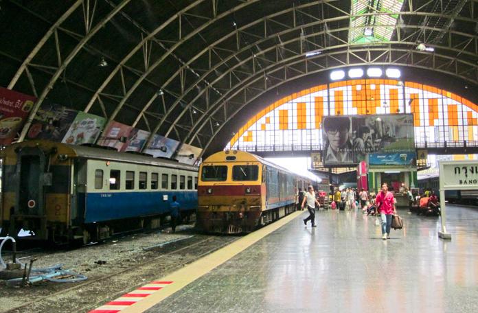 Estação ferroviária de Bangkok