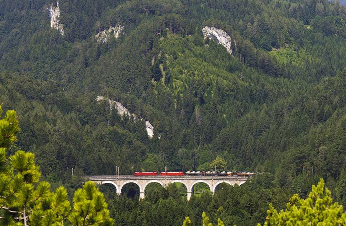 10 viagens de trem: Gloggnitz para Mürzzuschlag na Áustria