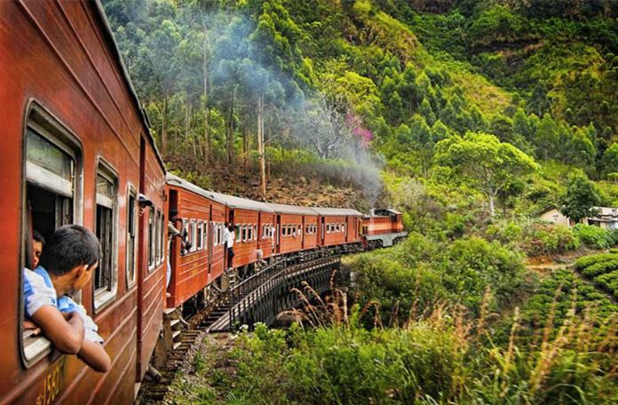 10 viagens de trem: Colombo para Kandy no Sri Lanka