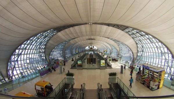 Chegando em Bangkok