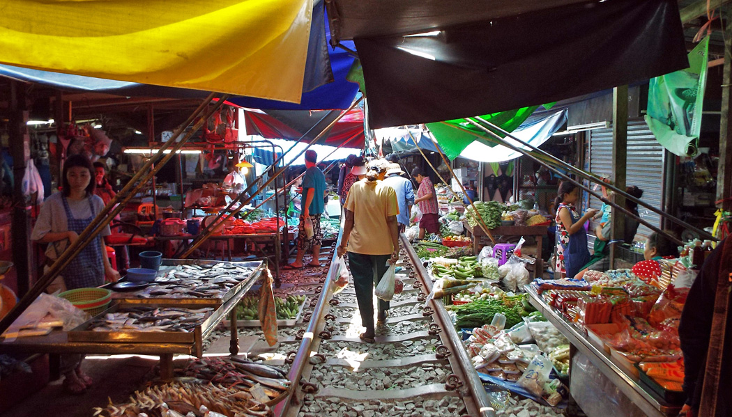 Mercado do trem