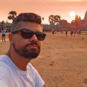 Nascer do sol em Angkor Wat