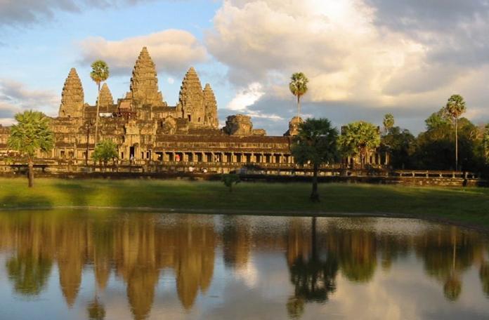 Angkor já pela tarde